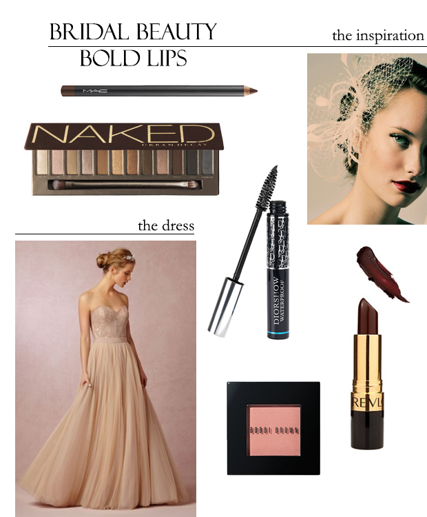 Bridal Beauty with Loverly: Bold Lips