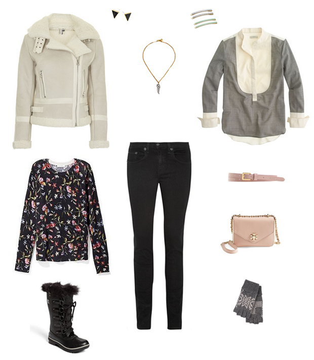 How She'd Wear It with Style and Cheek - Duck Boots