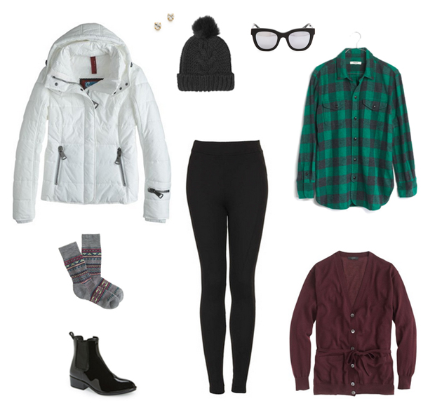 How She'd Wear It with Style and Cheek - Puffer Coats