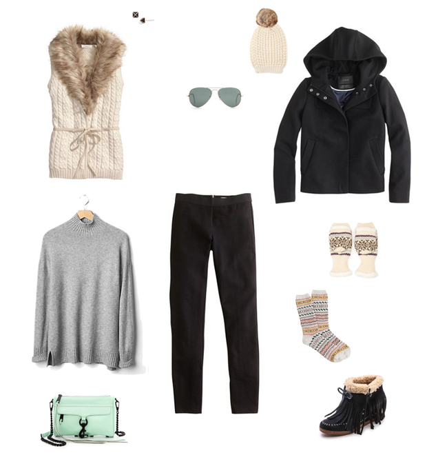 How She'd Wear It with Style and Cheek - Winter Accessories