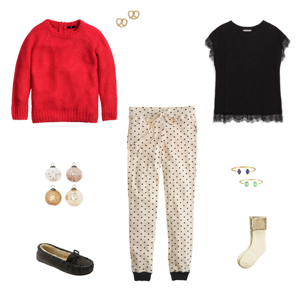How She'd Wear It with Style and Cheek - Winter Loungewear