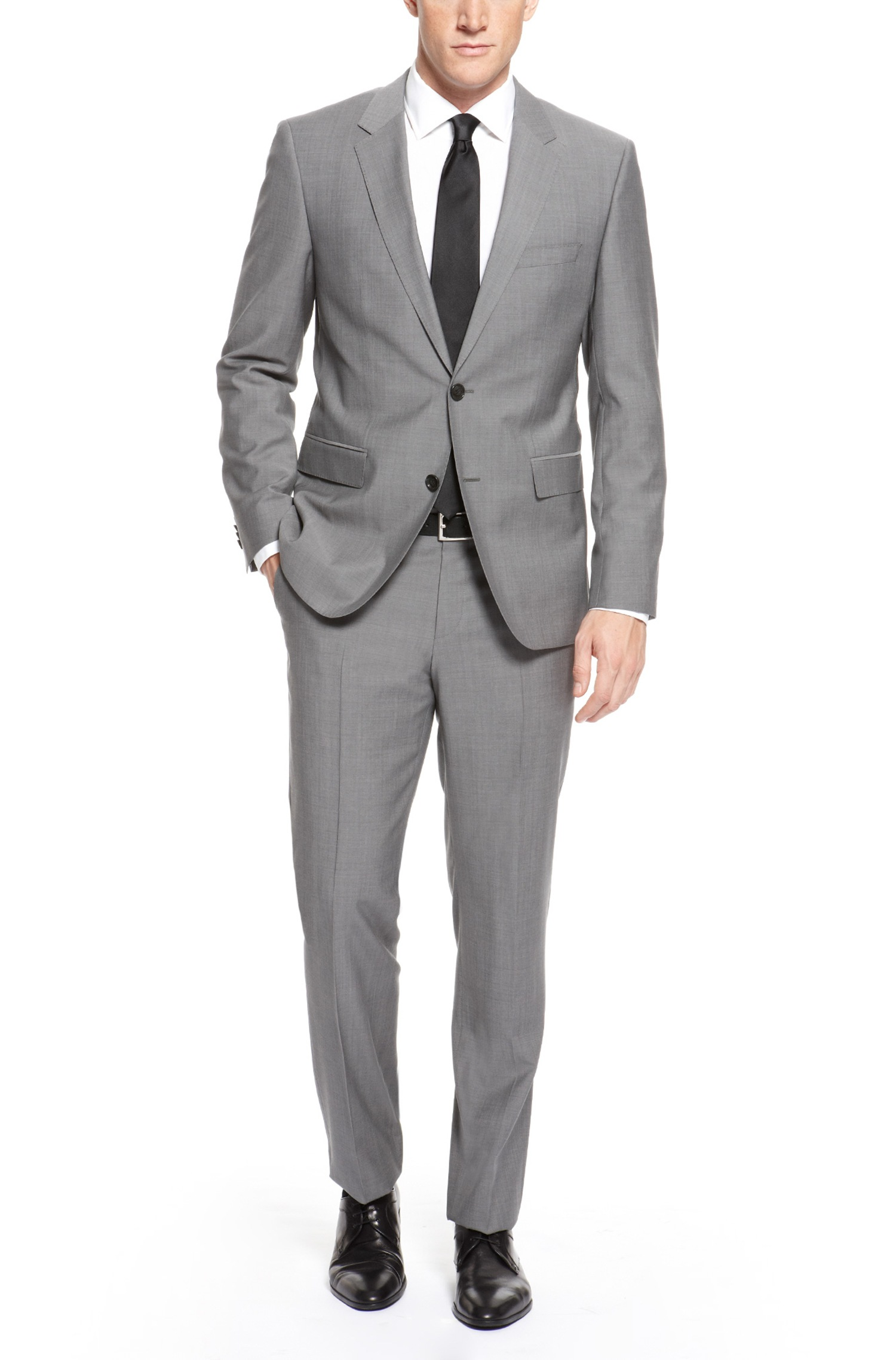 Hugo Boss 'The James/Sharp' | Regular Fit, Super 120 Italian Virgin Wool Suit by BOSS | Hugo Boss Suits