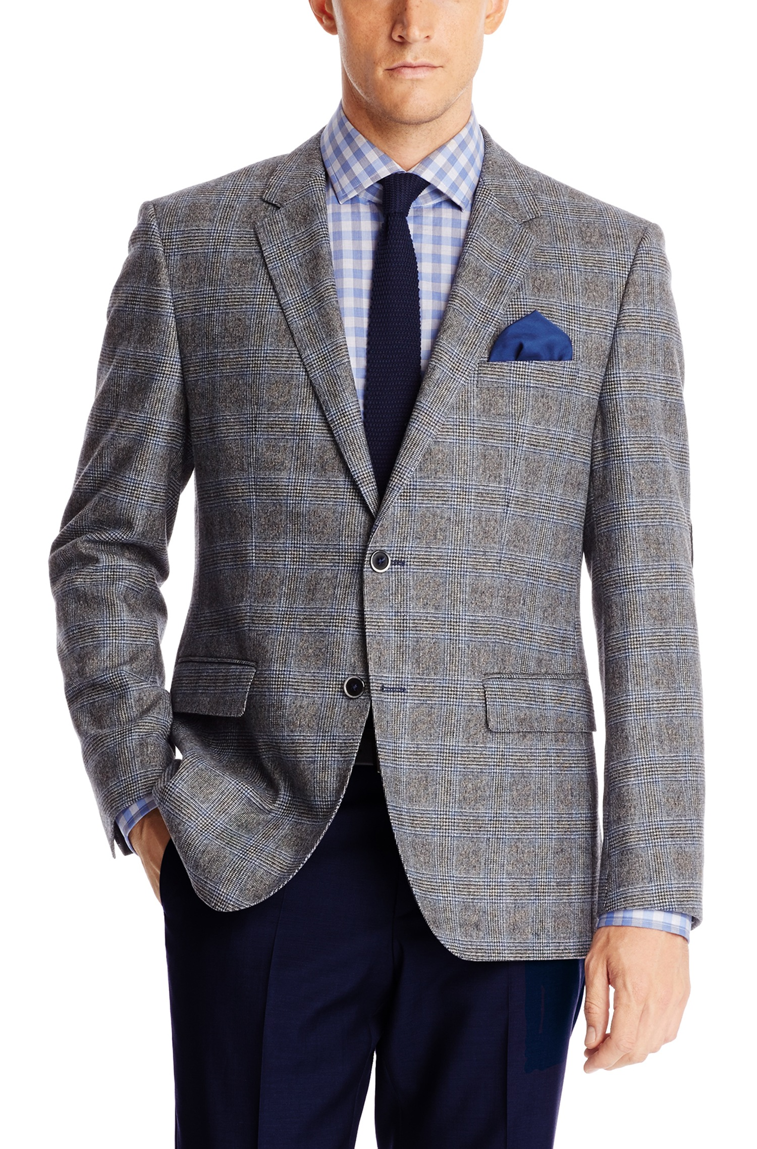 Hugo Boss 'The Smith' | Regular Fit, Stretch Virgin Wool Blend Sport Coat by BOSS | Hugo Boss Suits