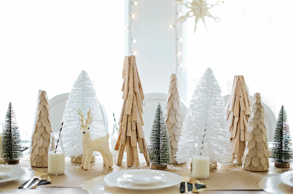 Little Gem: Holiday Breakfast With Doctor's Closet & Lulu And Drew | Glitter Guide | Christmas Tablescape Ideas