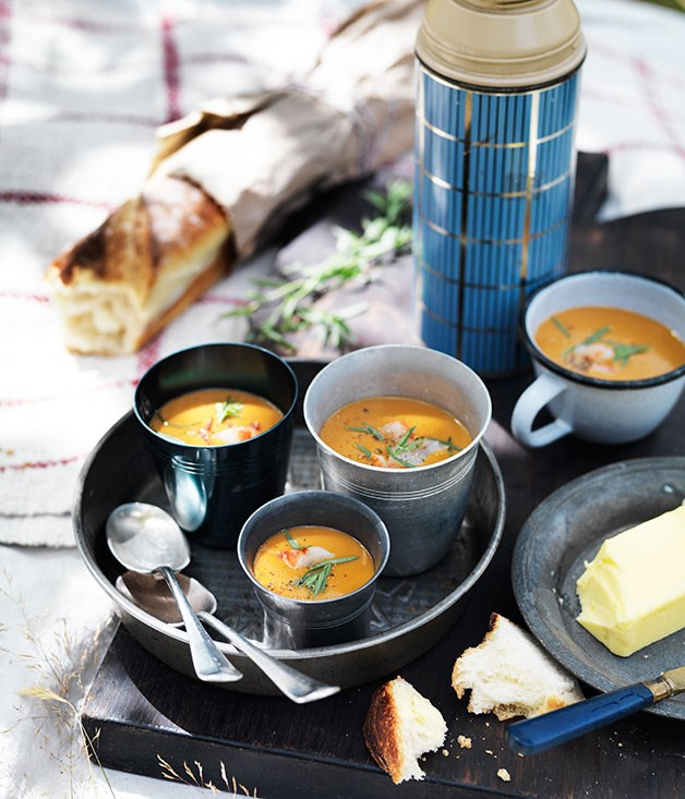 Prawn Bisque | Gourmet Traveller | Seafood Recipes for Christmas Eve