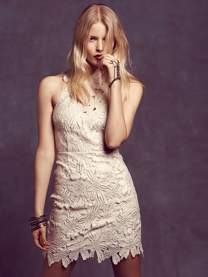 Saylor Jessa Foil Lace Dress from Free People | 6 Perfect New Year's Eve Dresses