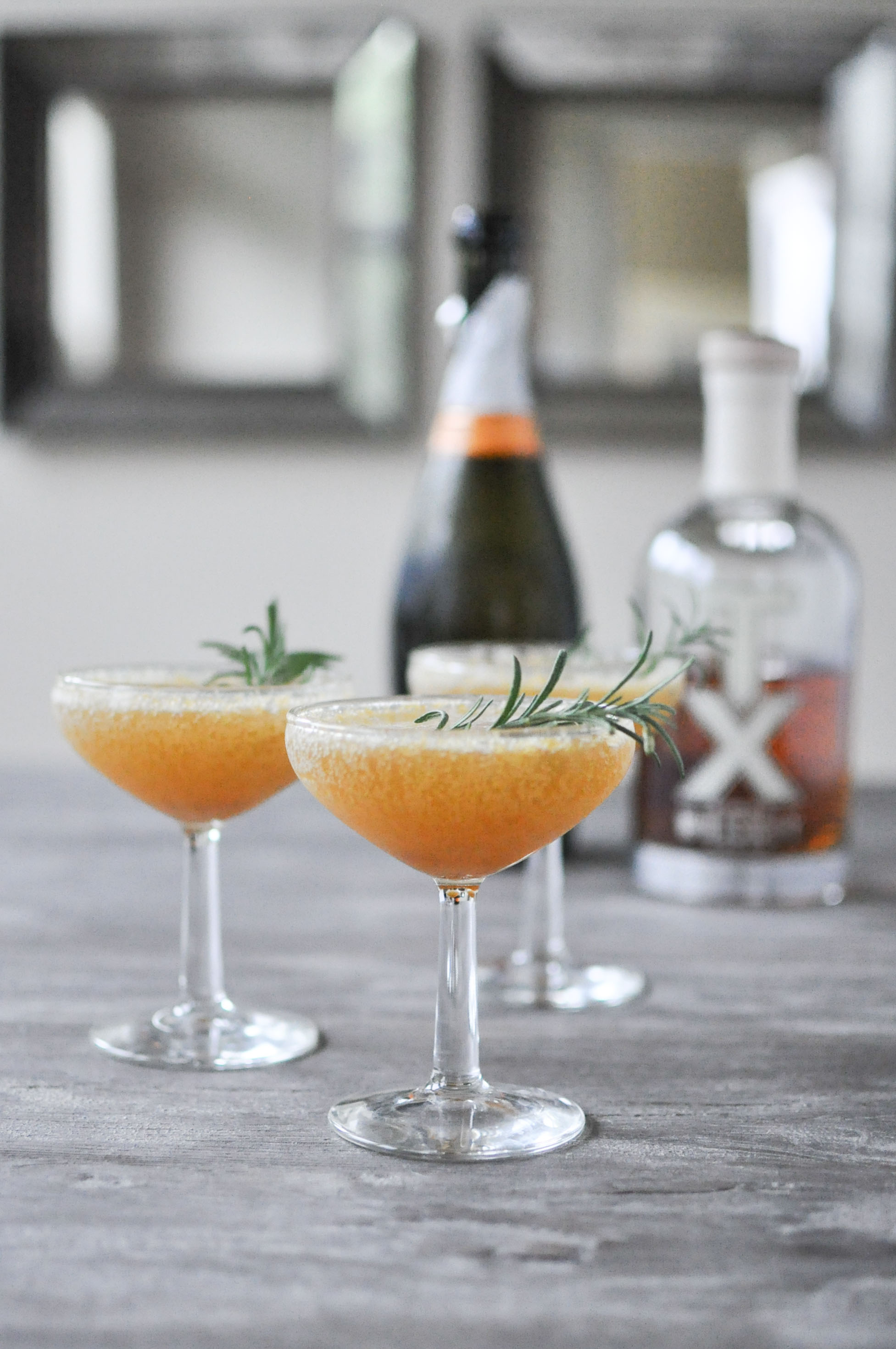 The Harvest Sparkle | Fed & Fit | Six Champagne Cocktails to Try this Winter