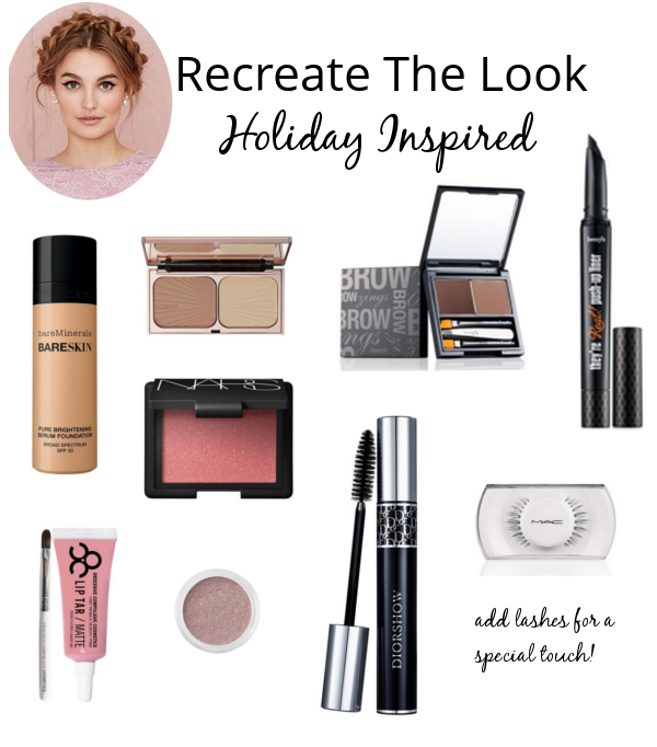 The Makeup Lady - Recreate the Look Holiday Inspired | Holiday Makeup Look