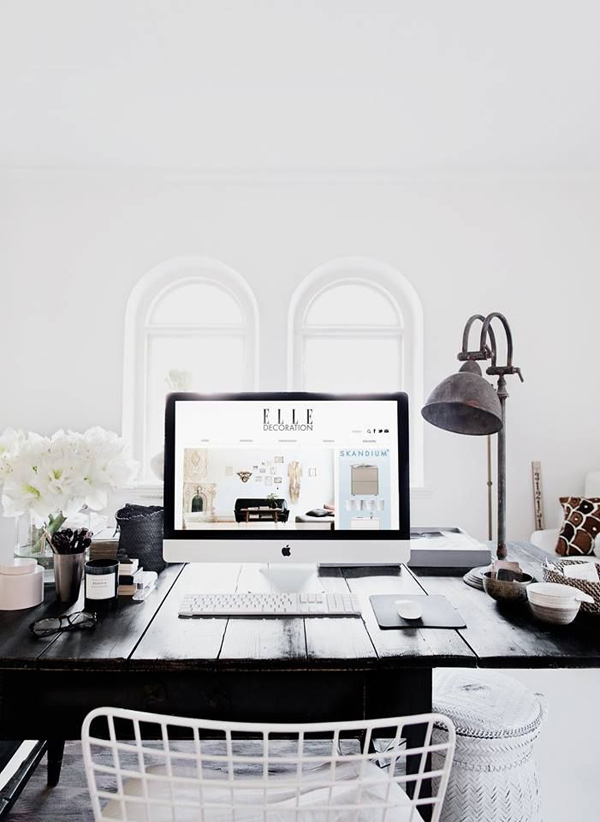 Superb 10 Of The Most Beautiful Work Spaces | Style Files | Interior Inspiration:  Eclectic Glamour