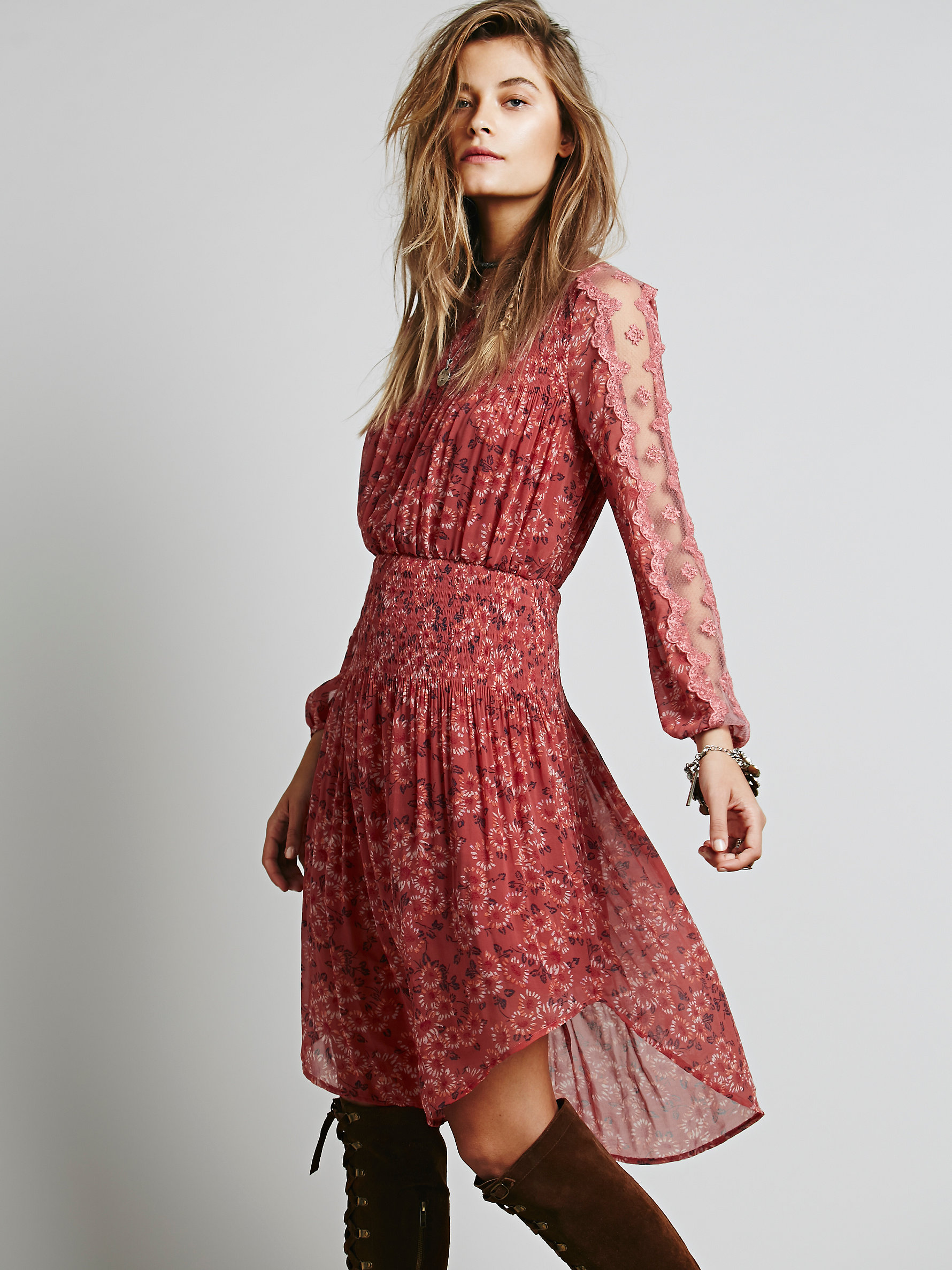 Free People Open Waters Charlotte Dress | Versatile Valentine's Day Dresses