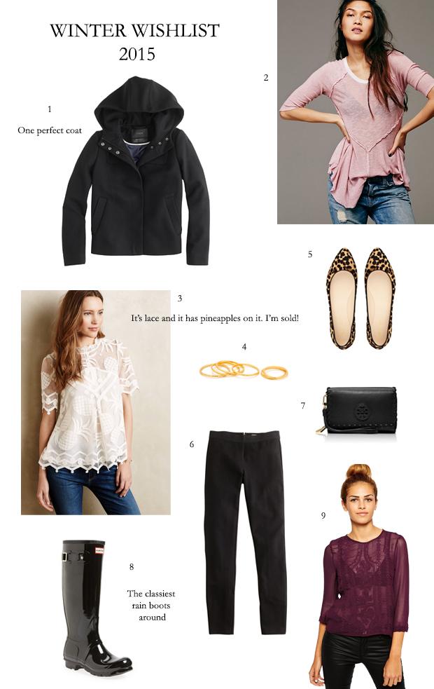Style and Cheek's Winter Wishlist 2015