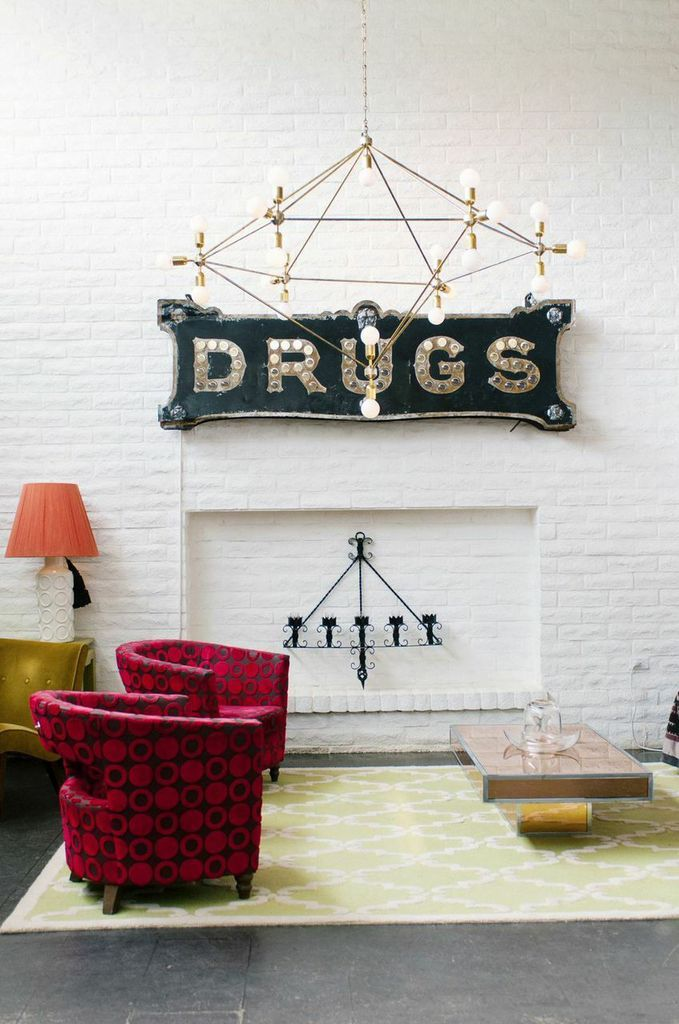 WANDERLUST: The Parker Palm Springs   Rue Mag   Interior Inspiration: Eclectic Glamour