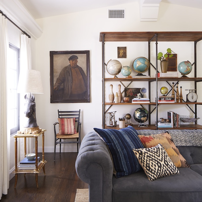 Rustic Spanish California Home - The Living Room | Style by Emily Henderson blog