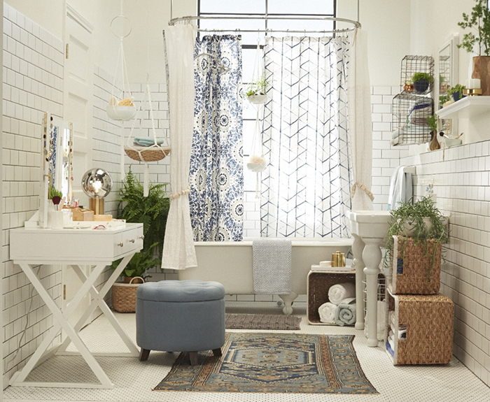 Target Chapter 9: Bohemian Bathroom | Style by Emily Henderson blog