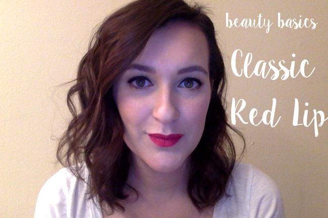 Classic Red Lip | Beauty Basics