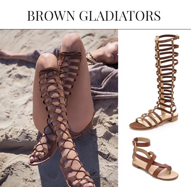 Brown Sandals for Spring Summer| Gladiator Sandals 2015