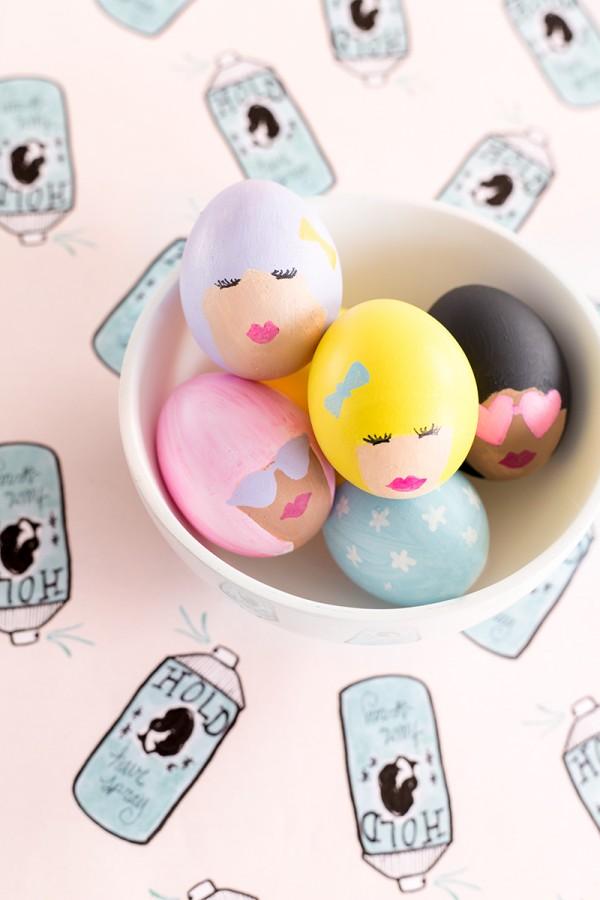 DIY Bouffant Easter Eggs   Studio DIY   DIY Easter Egg Ideas