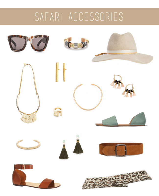 How She'd Wear It with Style and Cheek - Safari Accessories