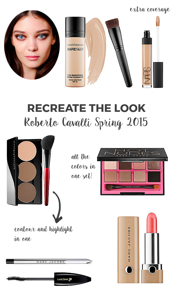 Recreate the Look Roberto Cavalli Spring 2015