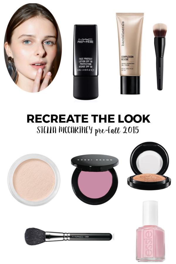 Recreate the Look Stella McCartney pre-fall 2015 | Beauty Basics