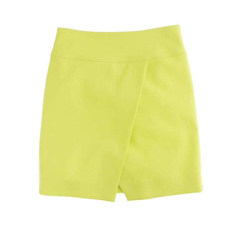 J.Crew Crossover Wrap Skirt | J Crew New Arrivals Spring