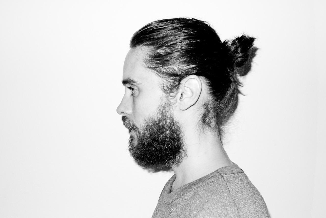Jared Leto photographed by Terry Richardson | Man Bun Monday