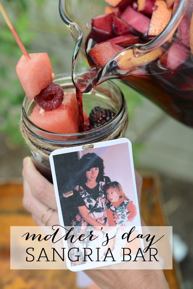 Mother's Day Sangria Bar | Cupcakes and Cashmere - Mother's Day Ideas