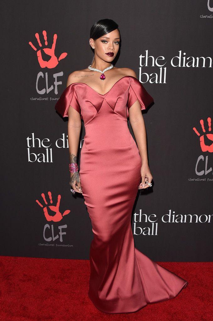 Rihanna at The Diamond Ball | Style Bistro | Rihanna's Style