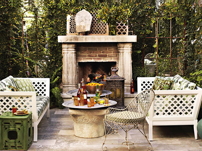 50 Gardens And Terraces That Make The House A Summer Beauty | Design Rulz | 6 Gorgeous Outdoor Spaces