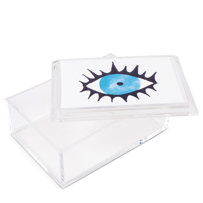 Furbish Studio Evil Eye Lucite Box