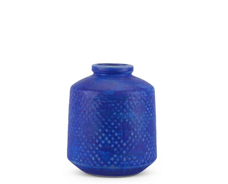 Furbish Studio Indigo Aishe Vase