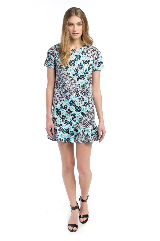 Sam & Lavi Annalise Florage Combed Cotton Stretch Dress | Five Favorite Prints for Spring with ZebraClub.com