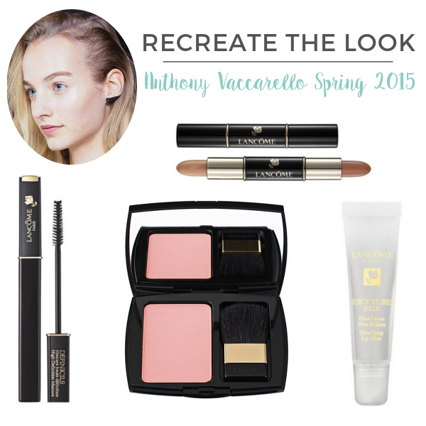 Recreate The Look Anthony Vaccarello Spring 2015 | Beauty Basics