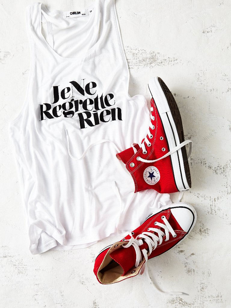 Charlie Hi Top Converse | Fourth of July Inspiration
