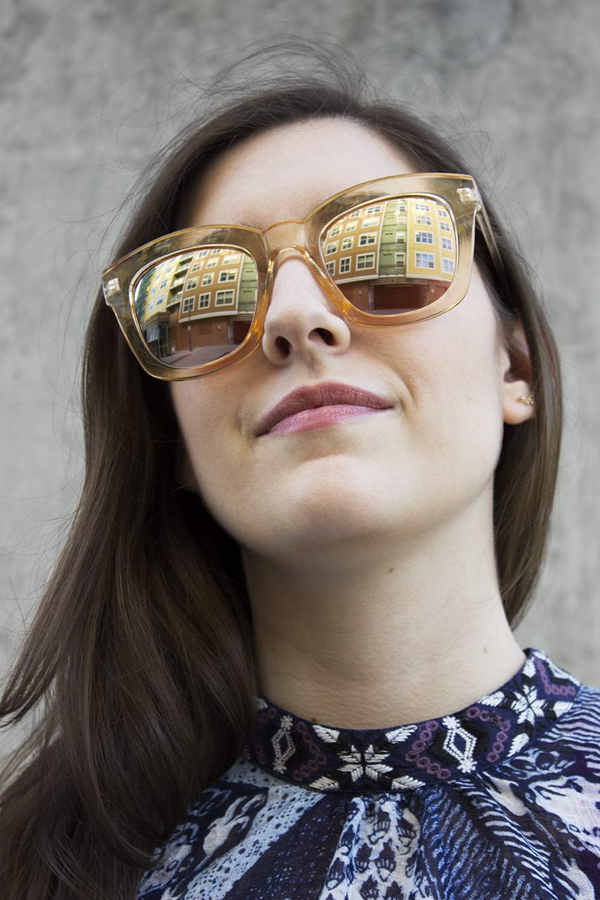 Free People Kensington Sunglasses   Summer Accessories on Style and Cheek