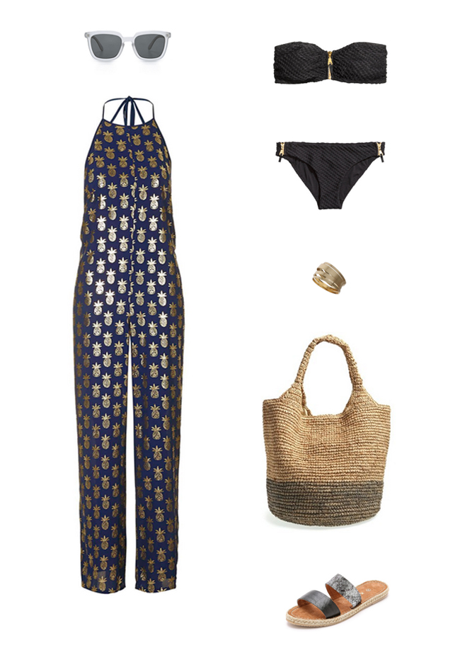 How She'd Wear It with Style and Cheek - Jumpsuit Cover ups