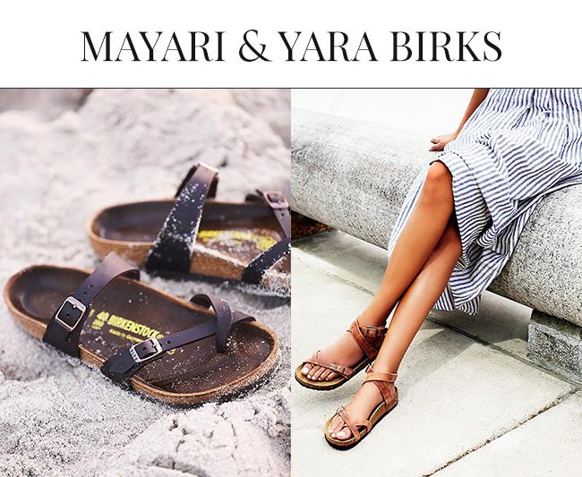 Mayari Birkenstock and Yara Birkenstock | Birkenstock Sandals 2015