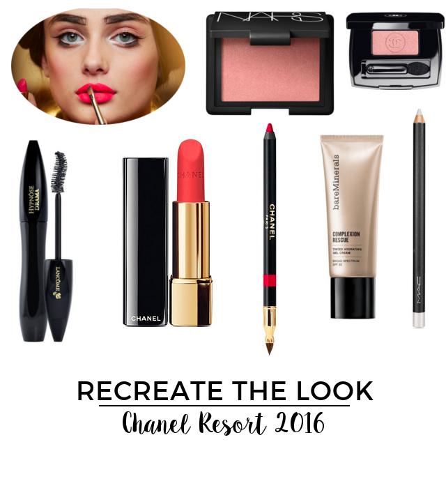 Recreate the Look Chanel Resort 2016 | Beauty Basics