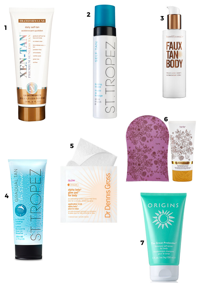 Sunless Self Tanners | Beauty Basics