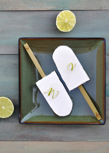 Coconut Lime Popsicles | Anja's Food for Thought | Dairy Free Popsicles