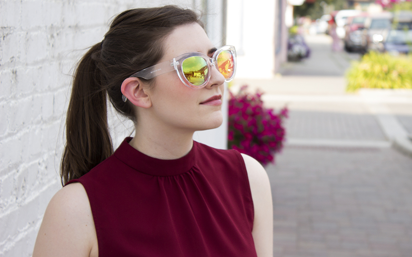 Moorea Seal Lilly Sunglasses | Summer Day Trip OOTD