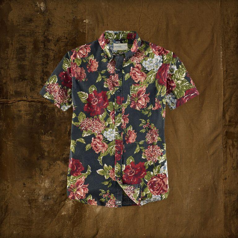 Ralph Lauren Floral Short-Sleeved Shirt | Men's Short Sleeve Shirts