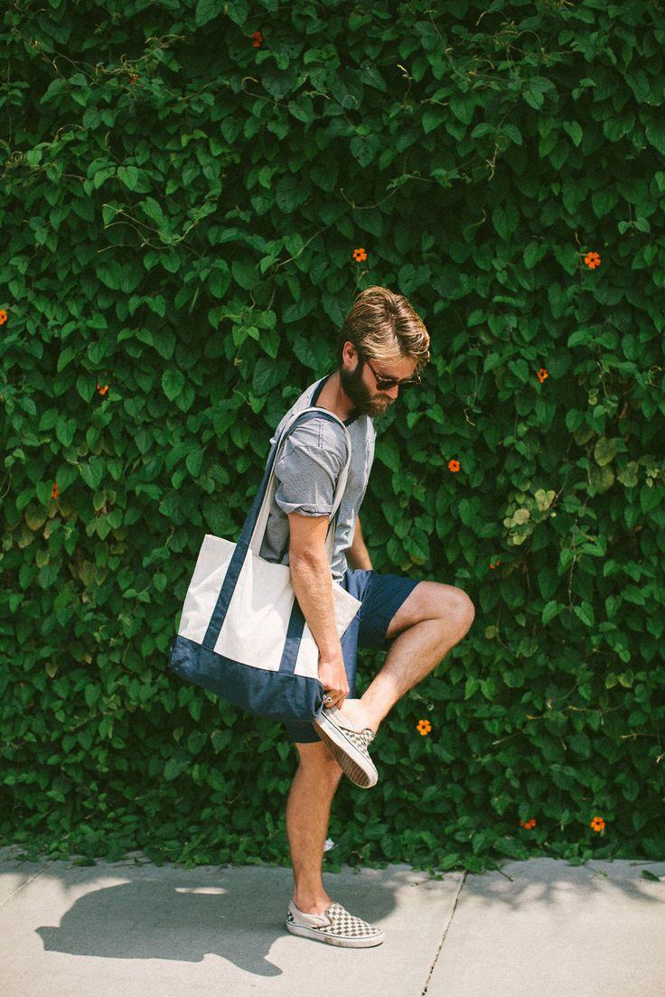 Sausalito Stripe Tee | Taylor Stitch | Menswear Summertime Style