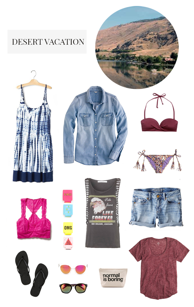 What to Pack for a Desert Vacation