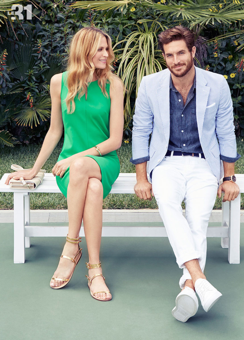 Justice Joslin Appears in Simons Father's Day Look Book | DESIGNS FEVER | Menswear Summertime Style