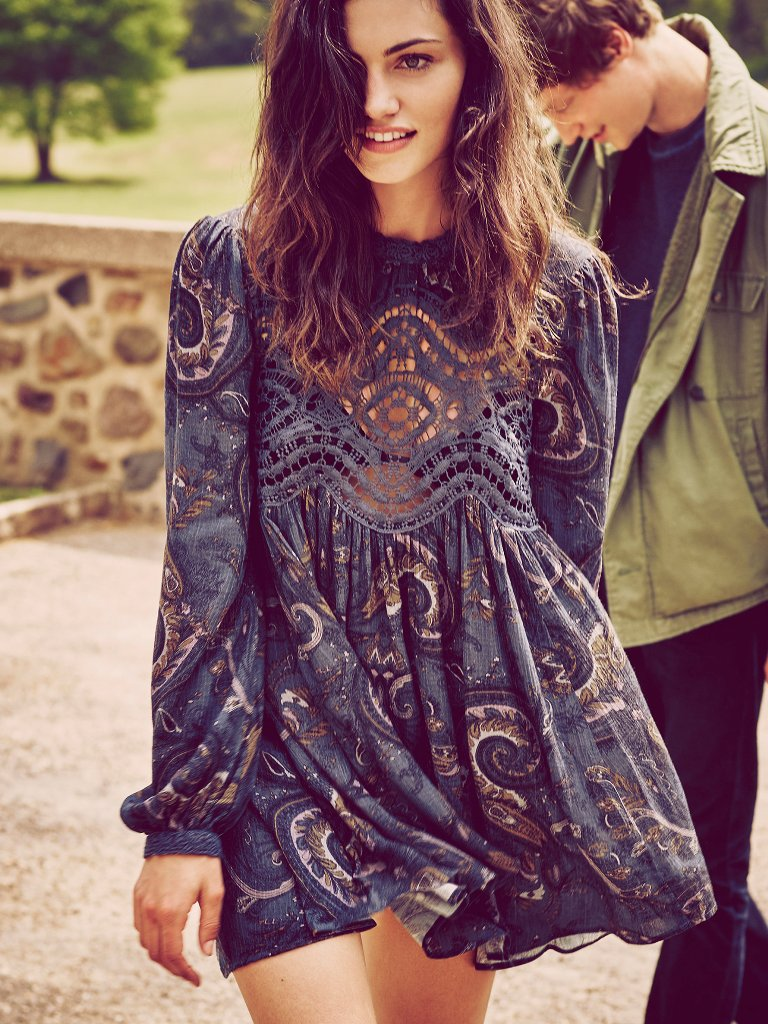 Free People Sweet Thing Printed Tunic | Free People Fall Collection 2015