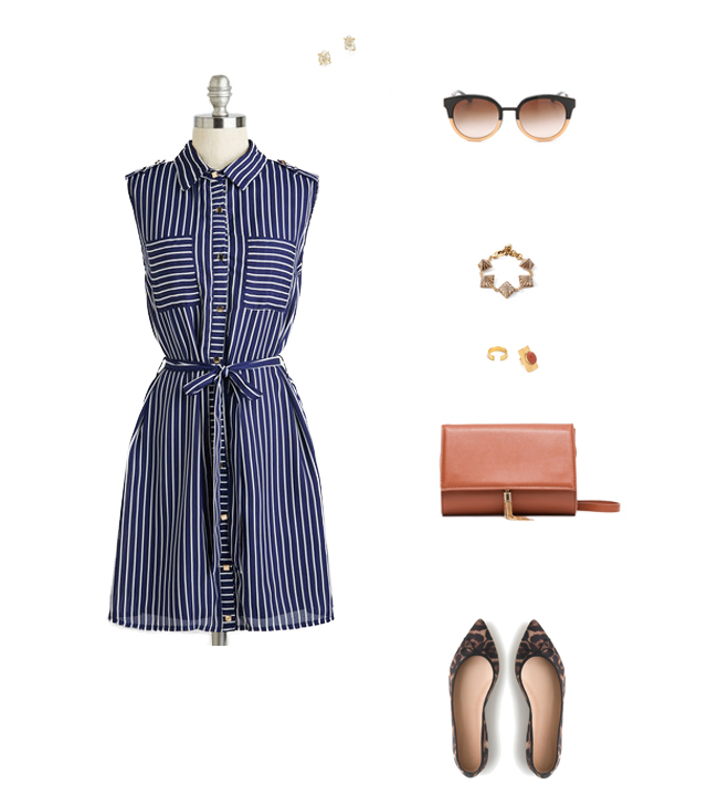 How She'd Wear It with Style and Cheek - Vintage Style Shirtdresses