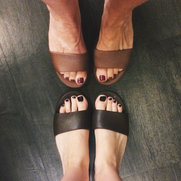 The best spa sandals ever! | Yuan Spa Hydrotherapy Circuit