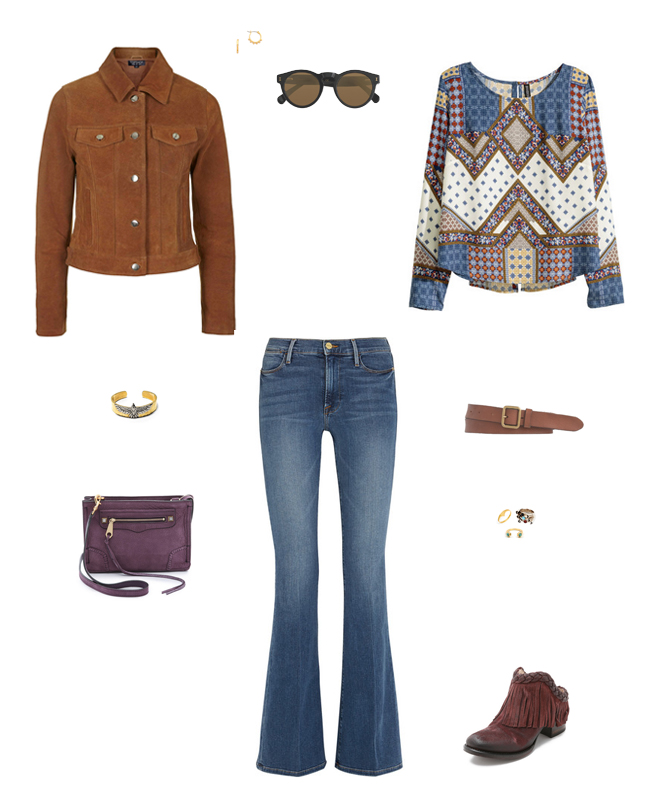 High Rise Flare Jeans | How She'd Wear It with Style and Cheek