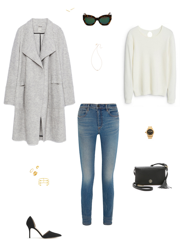 How She'd Wear It with Style and Cheek - High Rise Skinny Jeans